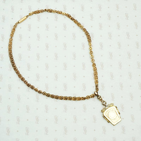 Gorgeous Vintage Chain with Detachable Locket