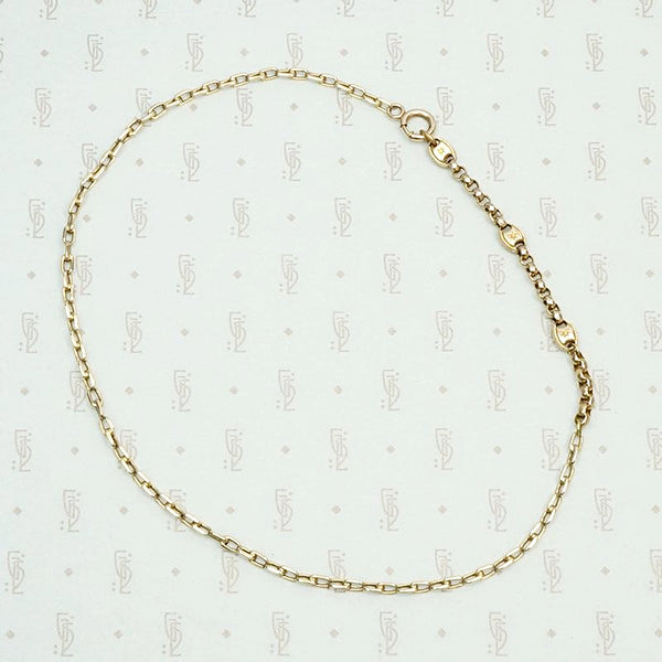 Glam Star Studded Gold Married Chain