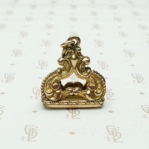 Highly Detailed Double Sided Vintage Fob
