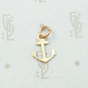 Vintage Nautical Anchor Charm