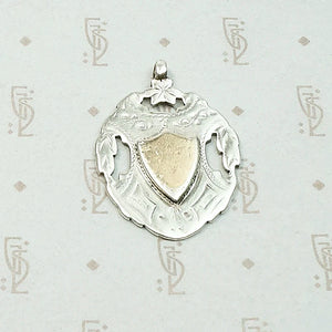 Turn of the Century English Gold & Silver Fob