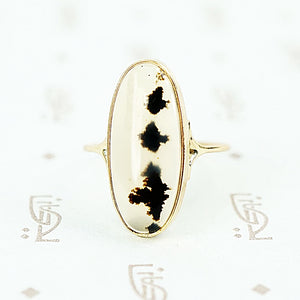agate gold conversion ring