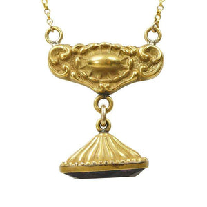 Art Nouveau Fob Necklace by Ancient Influences
