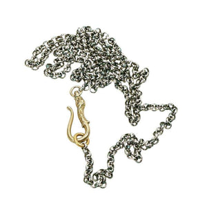 The Dog Hook Necklace from the Married Chains Collection