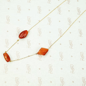 The Ancient Roman Carnelian Necklace