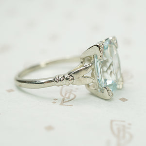 The Best 1930's Aquamarine Ring