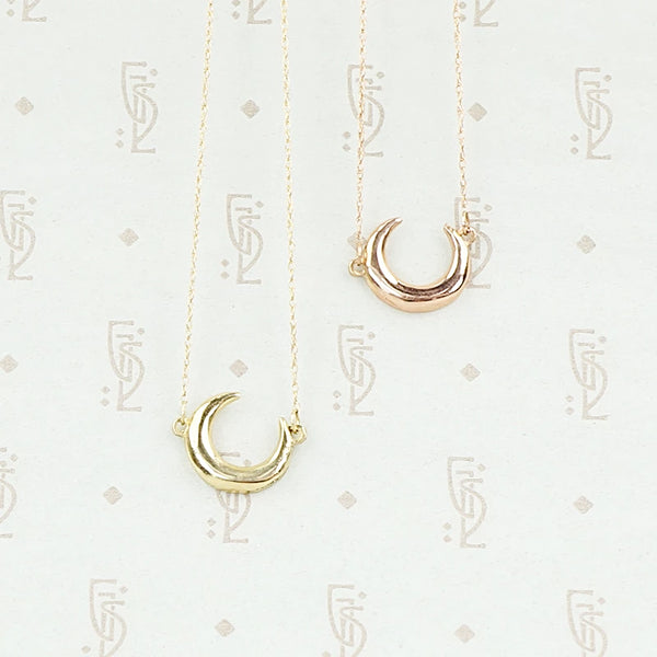 Baby Moon Necklace by 720