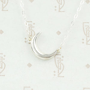 The Baby Moon in Recycled Sterling Silver