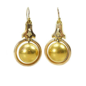 Classic Victorian Articulated Earrings