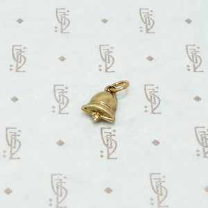 bell charm 9ct