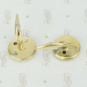 Artistic Vintage European Cuff Links