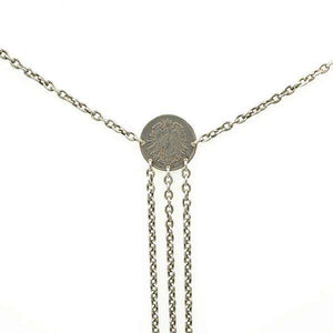 Bohemian Chains of Silver Necklace