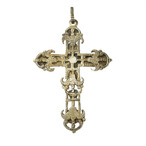 Large Gem Set Austro Hungarian Cross