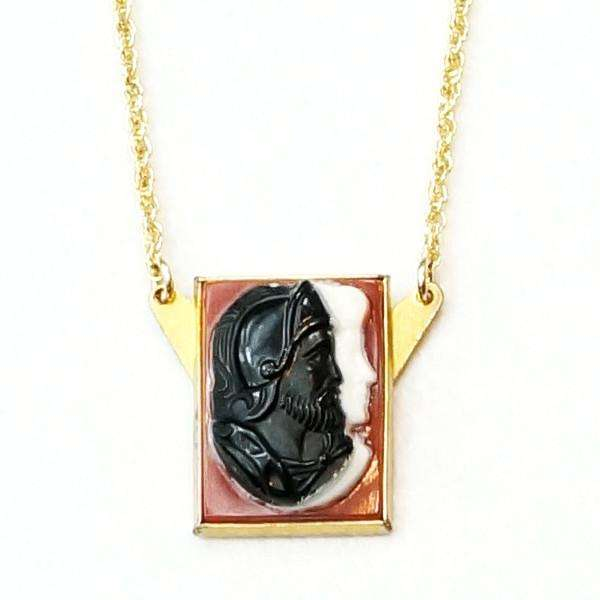 Double Cameo Pendant from the Bits and Pieces Collection