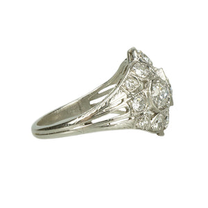 Platinum and Diamond Edwardian Beauty