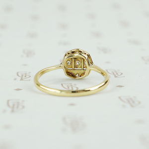 back view of edwardian ring
