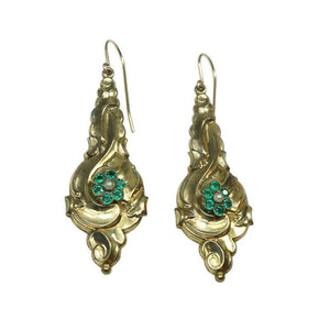 Early 1800's Repoussé Earrings