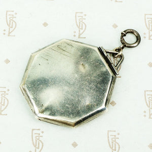 Vintage Engraved Sterling Locket