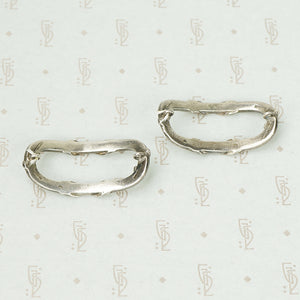 French Tiffany and Co. Silver Ribbon Jewels