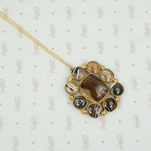 Georgian Banded Agate Necklace
