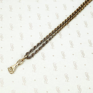 The Golden Figa Necklace