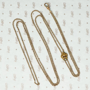 greenman slide gold chain with hook