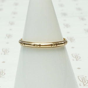 """Rays of Love"" Rose Gold Blossom Band"