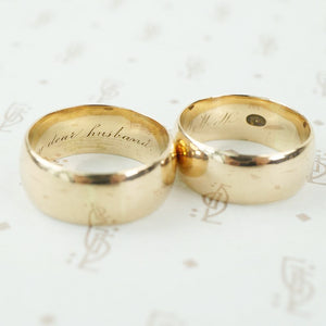 18k wedding bands halloween
