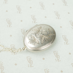 Antique Sterling Silver Horseshoe Locket