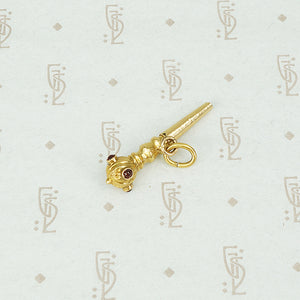The Tiny 18k Scepter Watch Key Fob