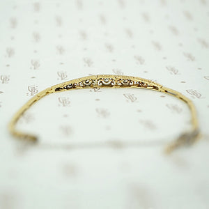 Sparkling Diamond Edwardian Panel Bracelet