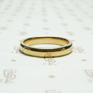 Chubby 1950s Yellow Gold Wedding Band