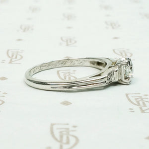 Affordable Engagement Ring with Wonderful Details