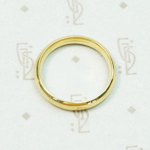 Excellent Quality European 18k Gold Band