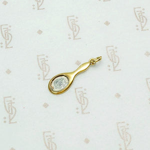 Adorable Wee Hand Mirror Charm