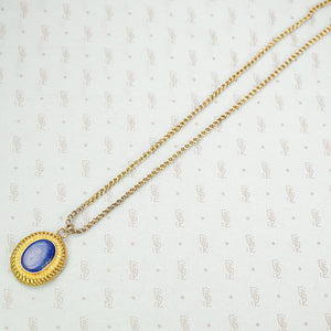 Gorgeous 15ct Gold Locket set with Lapis
