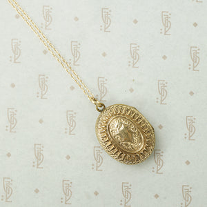 Charming Gold Victorian Locket