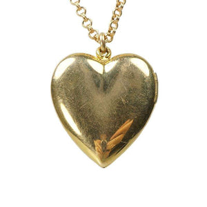 Heart Shaped Vintage 1940's Locket