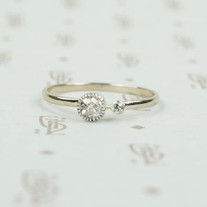 The Lumiére Double Diamond Ring