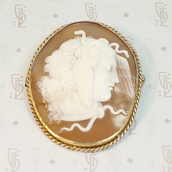 The Winged Medusa Cameo