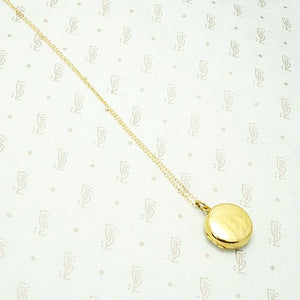Sweet Little English Gold Locket