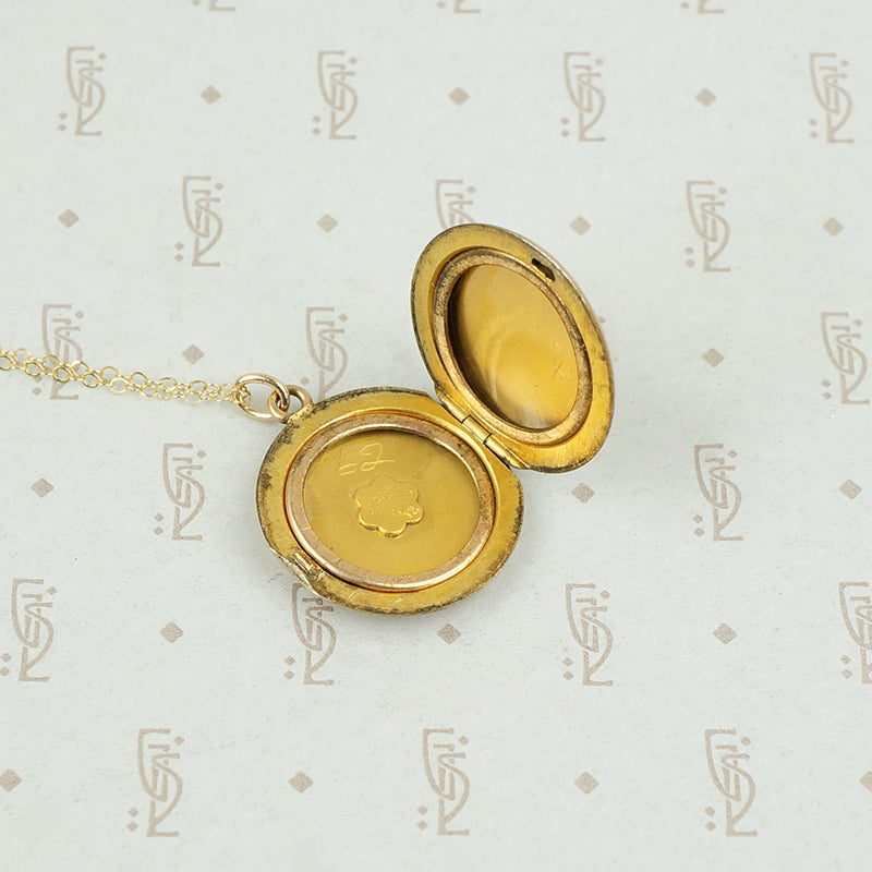 Turn of the Century Gold Filled Locket