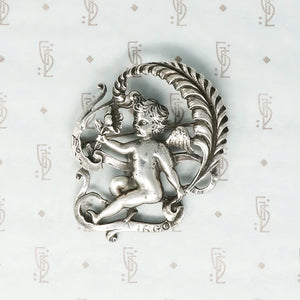 Darling Sterling Virgo Brooch by Cini