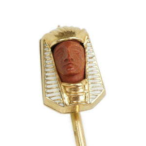 Egyptian Revival Pharaoh Stick Pin