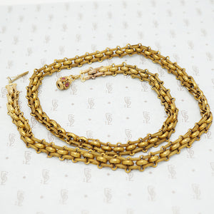 antique pinchbeck chain