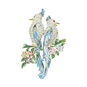 Coro Duette Enameled Birds