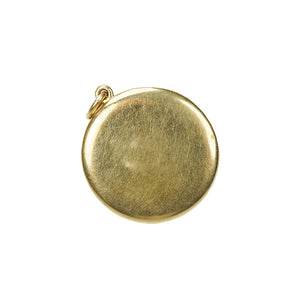 Vintage Sagittarius Locket in Gold