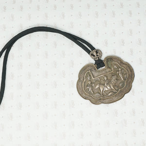 Antique Chinese Silver Pendant