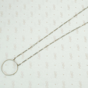 The Silver Circle Necklace