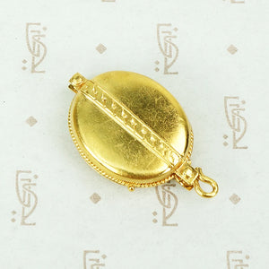 Antique 18k Gold Sliding Locket
